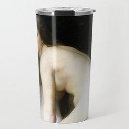 """William-Adolphe Bouguereau """"Bather"""" Travel Mug"""