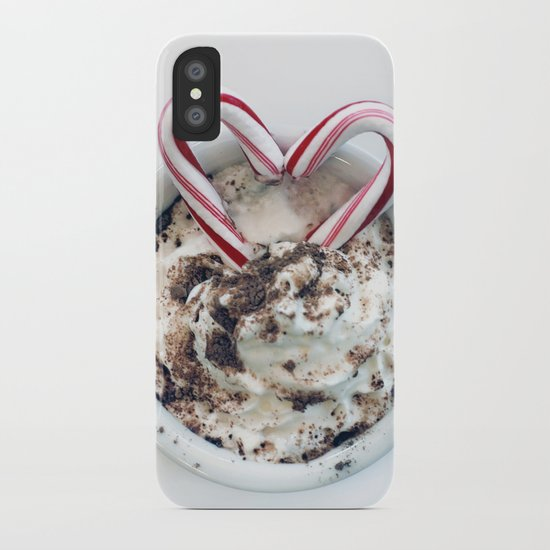 i heart hot chocolate iPhone Case