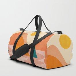 Abstraction_Lake_Sunset Duffle Bag