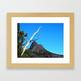 Up at Cradle Mountain Framed Art Print