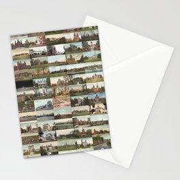 Kirkbride Asylum Vintage Postcard Collage Stationery Cards