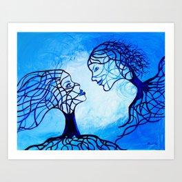 Finding You Art Print