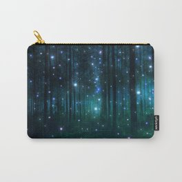 Glowing Space Woods Carry-All Pouch