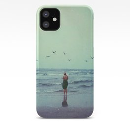 Woman on the Beach iPhone Case