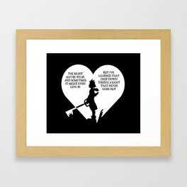 NeverEnding Light Framed Art Print