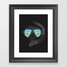 Underwater Attractions  Framed Art Print