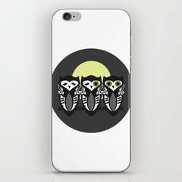 Three Little Owls iPhone Skin