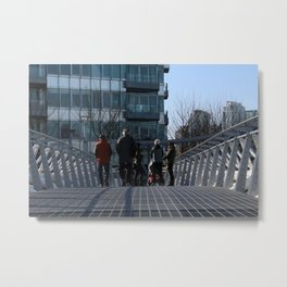 Bridge 2 Metal Print