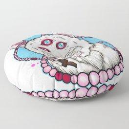 Howlin' Meower Floor Pillow
