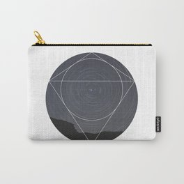 Spinning Universe - Geometric Photography Carry-All Pouch