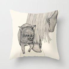 followers Throw Pillow