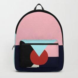 Circle Series - Red Circle No. 3 Backpack