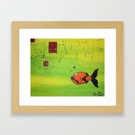 Blown Away Framed Art Print