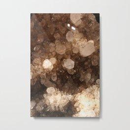 Quartz Crystals Metal Print