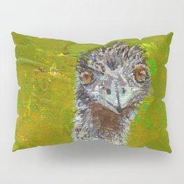 Teaching of the Emu Pillow Sham