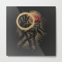 ASTRO CIGARETTE Metal Print