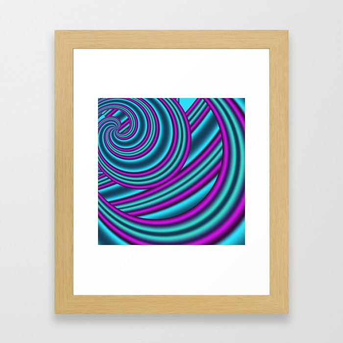 fractals are beautiful -04- Framed Art Print