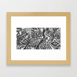Subjectivity Framed Art Print