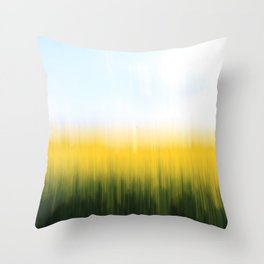fields of gold o1 Throw Pillow