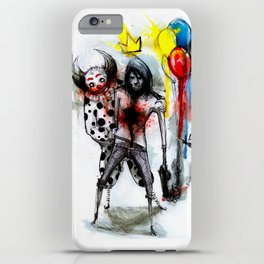Clown Fun iPhone Case