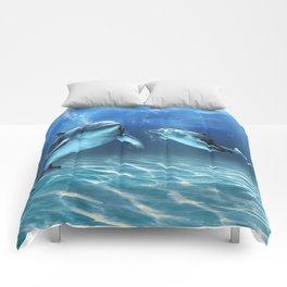 Dolphin Dream Comforters