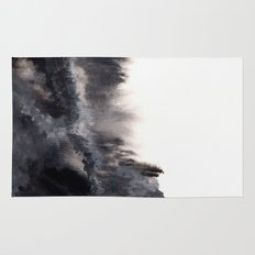 Watercolor abstract landscape 17 Rug