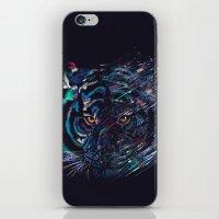fierce iPhone & iPod Skins featuring FIERCE by dan elijah g. fajardo