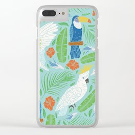 Wings Across The Tropics I Clear iPhone Case