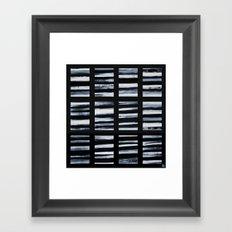 Faded Lines Framed Art Print