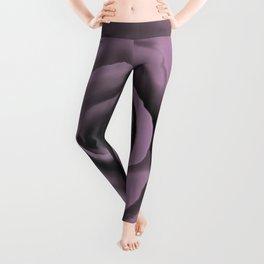Big Dark Lavender Rose Leggings