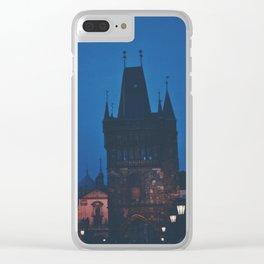 Nights in Prague Clear iPhone Case