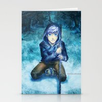 jack frost Stationery Cards featuring Jack frost by keiden