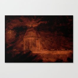 Hold back the nightmare... Canvas Print