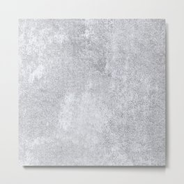 Abstract silver paper Metal Print