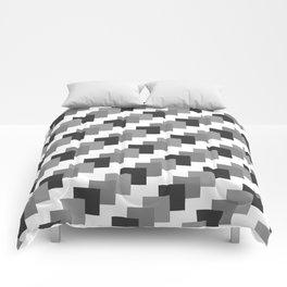 Retro Black and White Comforters