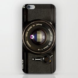 Canon Camera EF Style iPhone Skin