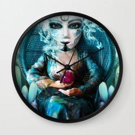The Empress (iii) Wall Clock