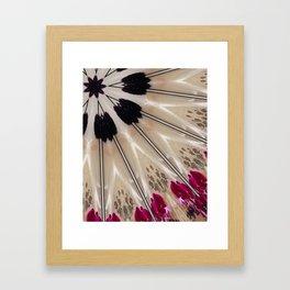 Kimono style Framed Art Print