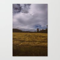 norway Canvas Prints featuring norway by Szymon Satora