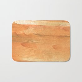Sandy brown Bath Mat