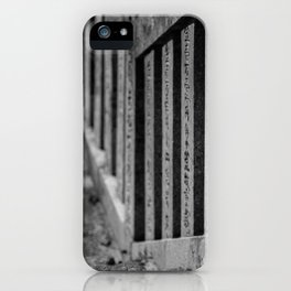 Shrine Steps iPhone Case