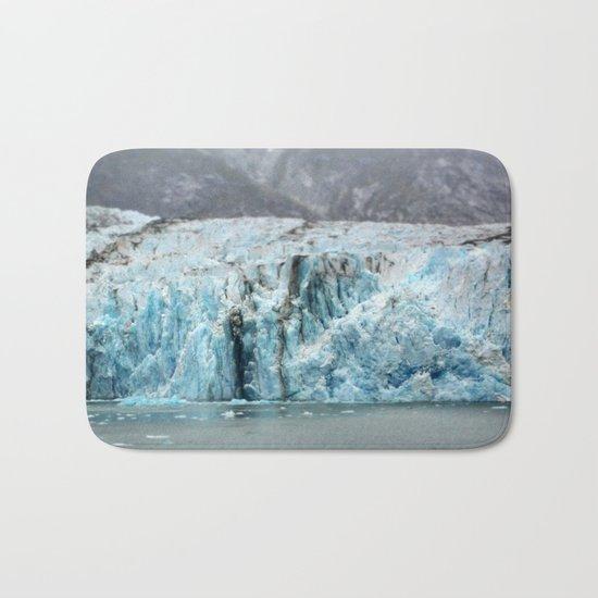 Glacier in Focus Bath Mat