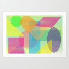 Geo 1 Art Print