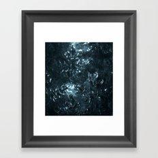 Enchanted blue Framed Art Print