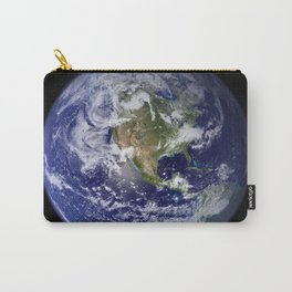Planet Earth - The Blue Marble From Space Carry-All Pouch