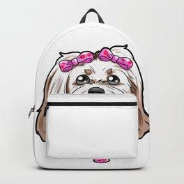 Havanese Dog Puppy Doggie Present Gift Backpack