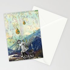 the early girl gets the bird Stationery Cards