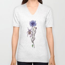 cornflower dream Unisex V-Neck