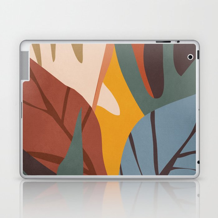 Abstract Art Jungle Laptop & iPad Skin