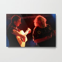 "Andy Falco & David ""Dawg"" Grisman Metal Print"